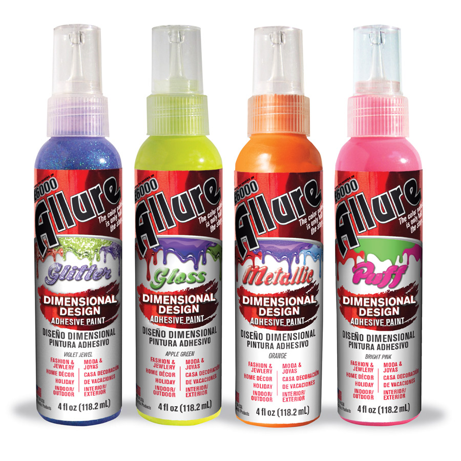 Allure Dimensional Design Adhesive Paint