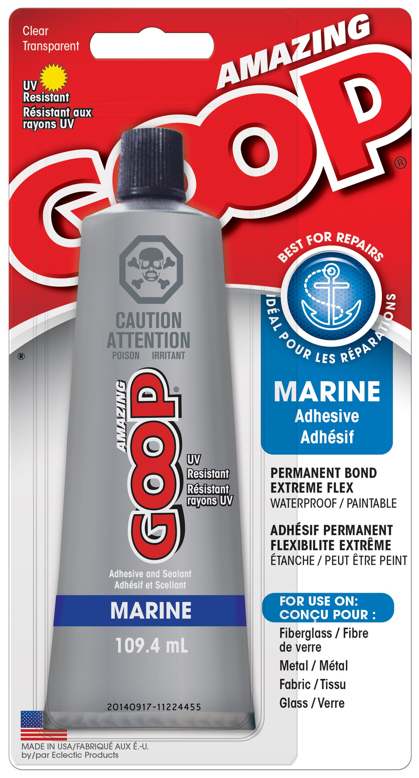 Amazing GOOP Marine Amazing GOOP Adhesives Products