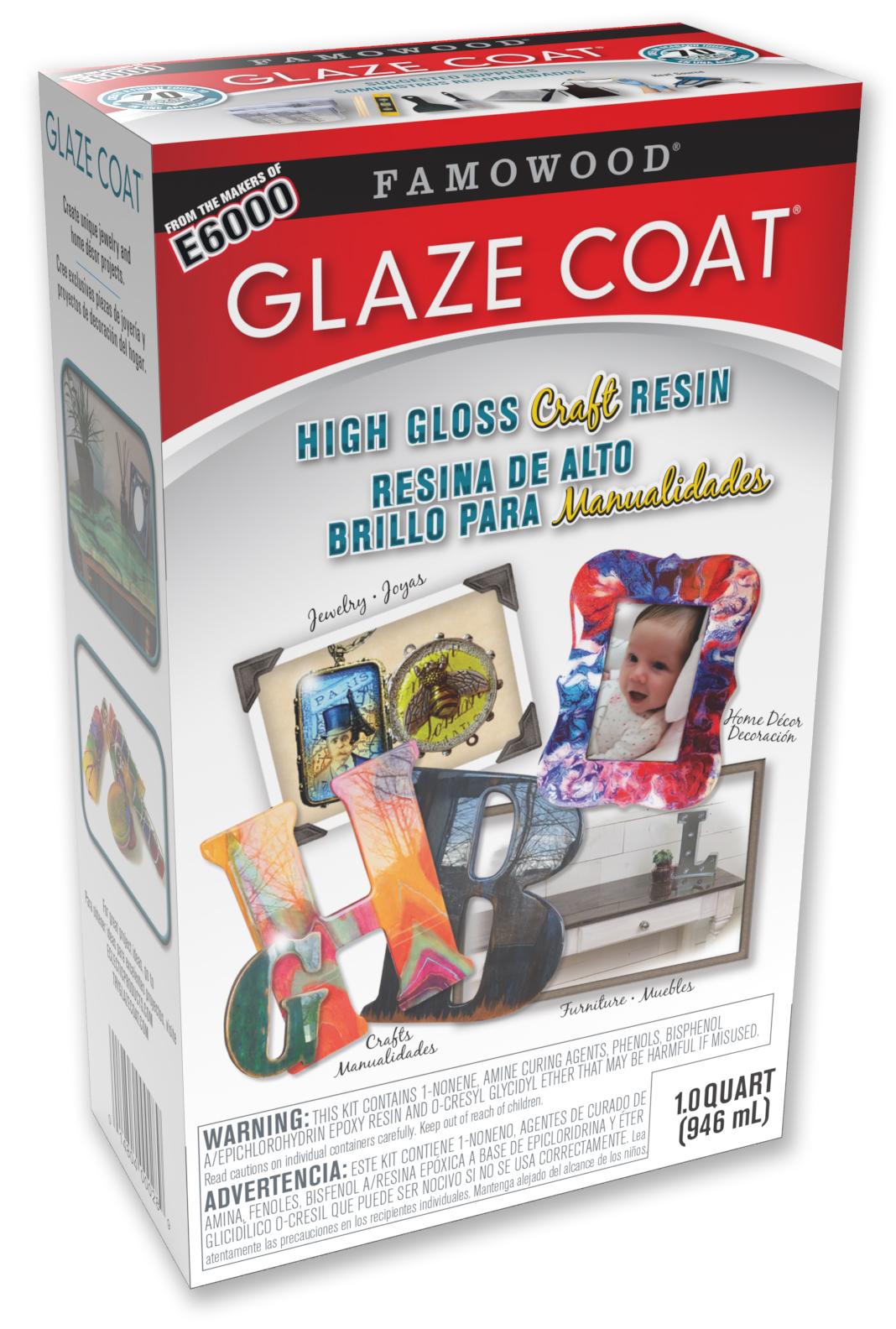 gc CRAFT 1 QT box kit US 300dpi - Famowood Glaze Coat Application Instructions