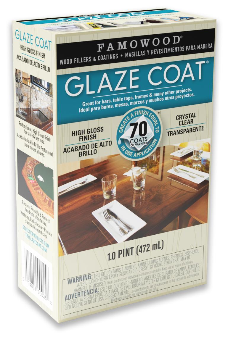 Famowood Glaze Coat Application Instructions