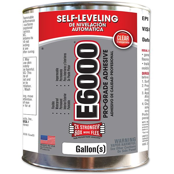 E6000 Industrial Adhesive In The Home On The Job Products