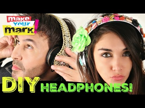How to: Blingy Headphones