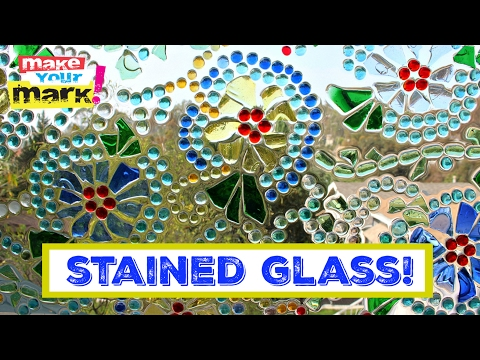 How to: Easy Stained Glass Window, Glaze Coat, E6000