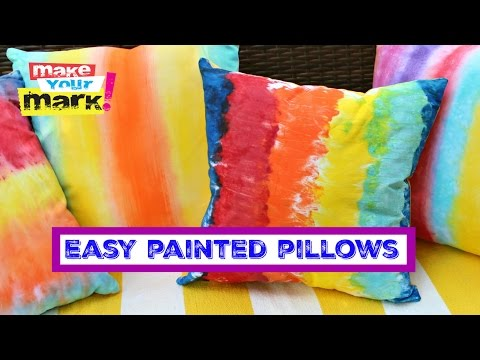 Easy PAINTED (Not Dyed) Pillows - Unicorn SPiT