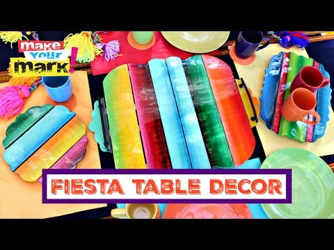 How to: Fiesta Table Decor