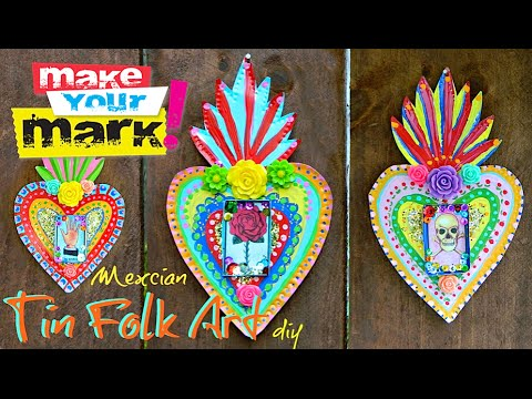 How to: Mexican Tin Folk Art