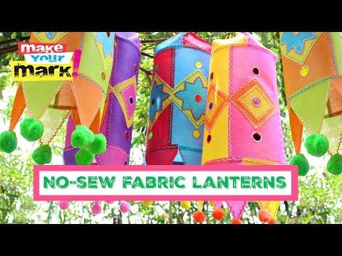 Fabric Lanterns DIY