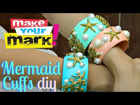 How to: Mermaid Cuffs DIY
