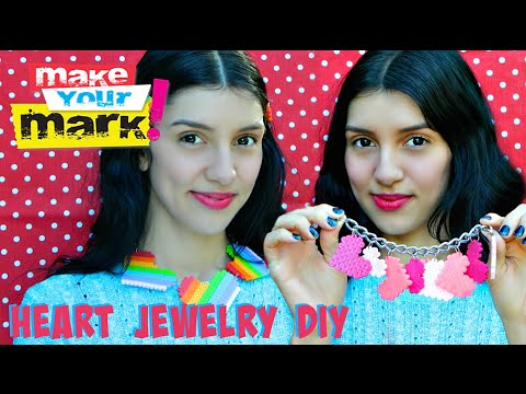 How to: Heart Jewelry DIY