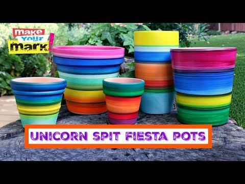 Unicorn Spit Fiesta Pots