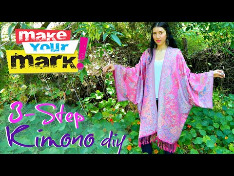 How to: 3-Step Kimono - Fray Lock