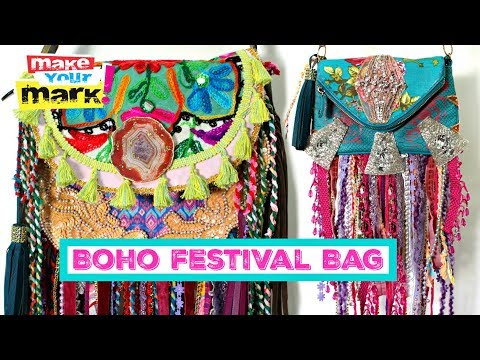 Boho Festival Bag - E6000, Fabri-Fuse