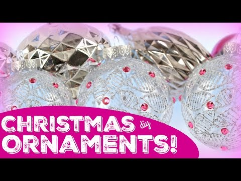 How to: Easy Christmas Ornaments