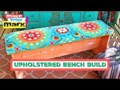 Upholstered Bench Build - Amazing GOOP ll Max, Fabri-Fuse