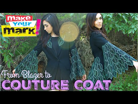 How to: Thrift Store Coat Makeover