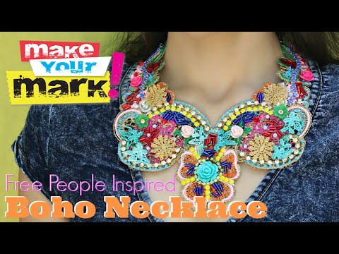 How to: Free People Inspired Boho Necklace