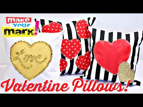 How to: Valentine's Day Pillows