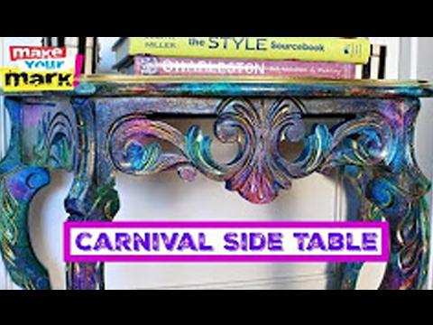 Carnival Side Table - Unicorn SPiT Sparkling