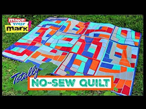 No-Sew Quilt, E6000 Fabri-Fuse